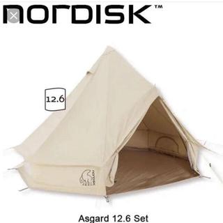 Snow Peak - Nordisk Asgard 12.6 テント+専用ジップフロア