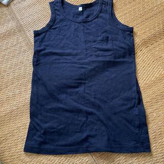 ムジルシリョウヒン(MUJI (無印良品))の無印タンクトップ140⭐️(Tシャツ/カットソー)