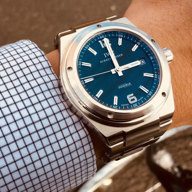 IWC(インターナショナルウォッチカンパニー)のIWC インヂュニア Ref.322701  メーカーOH済み メンズの時計(腕時計(アナログ))の商品写真