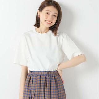 イエナ(IENA)のAURALEE/オーラリー ORGANIC COTTON JERSEY Tシャツ(Tシャツ(半袖/袖なし))