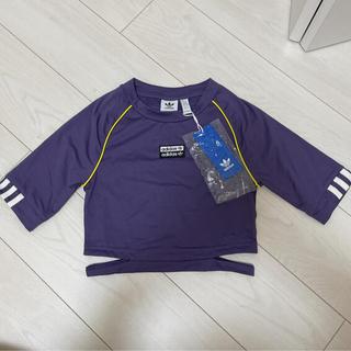 adidas - アディダスオリジナルス チビTシャツ ショート丈 パープル 紫 PAKAIAN