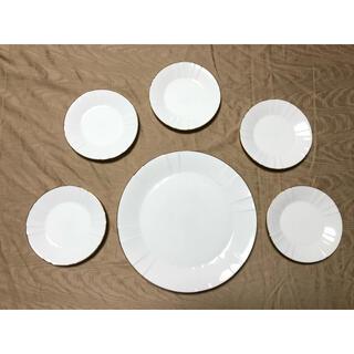 SONIA RYKIEL - 【SONIA RYKIEL】プレートセット 大1枚 小5枚 計6枚 白いお皿