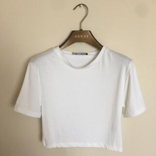 ZARA - ZARA クロップド丈ティーシャツ sサイズ(未使用)