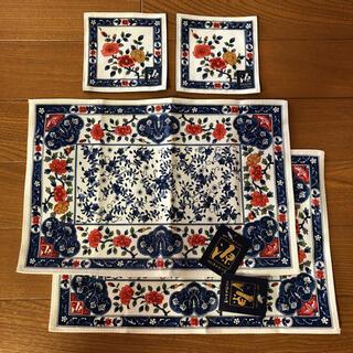 ANA 有田源右衛門窯 源コレクション ティーマット2枚 コースター2枚 セット(テーブル用品)