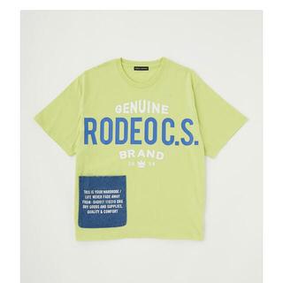 ロデオクラウンズワイドボウル(RODEO CROWNS WIDE BOWL)の RODEO CROWNS WIDE BOWL サイドポケットビッグTシャツ(Tシャツ/カットソー(半袖/袖なし))