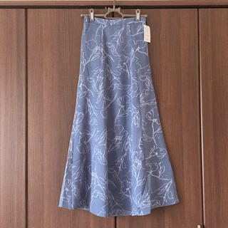 GRL - GRL 新作 新品タグ付き 花柄フレアスカート