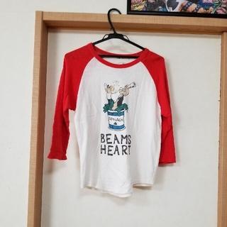 ビームス(BEAMS)の七分丈Tシャツ BEAMS HEART Fsize(Tシャツ(長袖/七分))