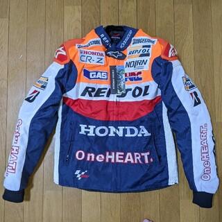 ホンダ(ホンダ)のバイク ホンダ レプソル REPSOL ジャケット サイズ XL 送料込み(装備/装具)