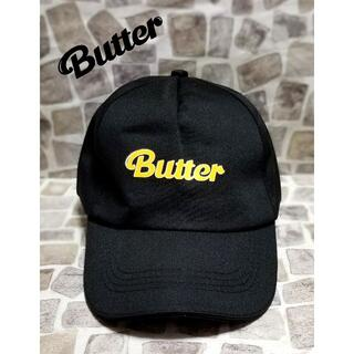 BTS Butter キャップ BLACK
