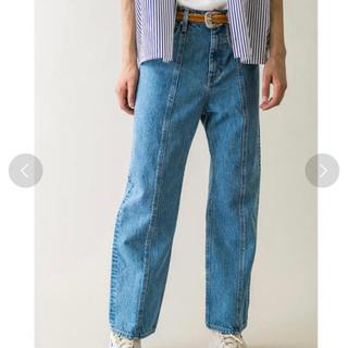 ジエダ(Jieda)のMONKEY TIME denim center seam trouser(デニム/ジーンズ)