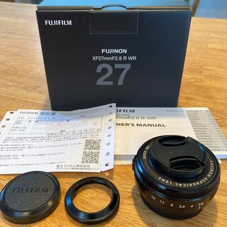 富士フイルム - FUJIFILM XF27mm F2.8 R WR 保証付き