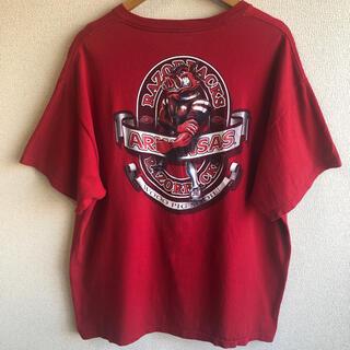 デルタ(DELTA)のアーカンソー ラゾーバックス プリント Tシャツ(Tシャツ/カットソー(半袖/袖なし))