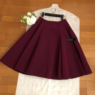FOXEY - 美品♡FOXEY♡美しいお色♡洗える♡フレアスカート ♡紙タグ付き