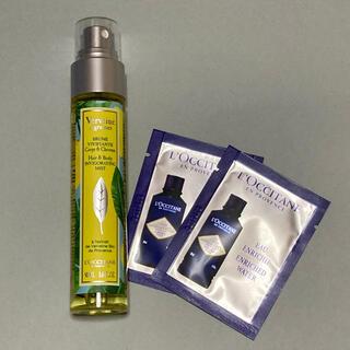 ロクシタン(L'OCCITANE)のロクシタン シトラスヴァーベナ ボディ&ヘアミスト ボディ用化粧水 サンプル付(ヘアウォーター/ヘアミスト)