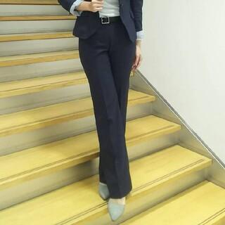スーツカンパニー(THE SUIT COMPANY)の新品☆SUITS COMPANY オールシーズンのネイビースーツ パンツのみ(スーツ)