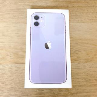 iPhone - iPhone 11 パープル 64 GB SIMフリー