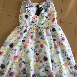 ANNA SUI mini - ANNA SUI ワンピースドレス 新品 L L150〜160cm