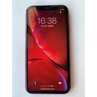Apple - SIMフリー iPhone XR 64GB 86% 赤