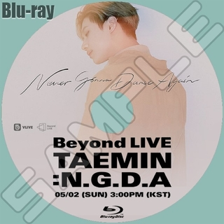 シャイニー(SHINee)のBeyond LIVE - TAEMIN : N.G.D.A★Blu-ray(K-POP/アジア)