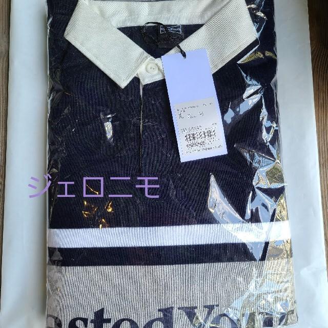 GDC(ジーディーシー)のWASTED YOUTH RUGBY SHIRT VERDY ラガーシャツ メンズのトップス(Tシャツ/カットソー(七分/長袖))の商品写真