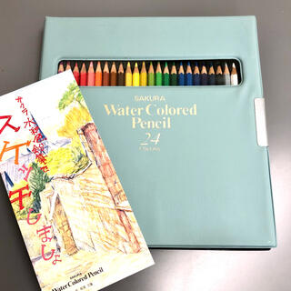 サクラクレパス(サクラクレパス)の【サクラ】水彩色鉛筆24色セット(色鉛筆)