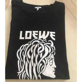 ロエベ(LOEWE)のロエベ LOEWE コットンTシャツ メデューサ 美品(Tシャツ(半袖/袖なし))