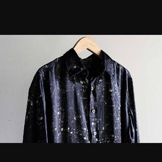 ポールハーデン(Paul Harnden)のGeoffrey B.Small シルクシャツ(シャツ)