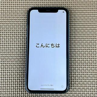 Apple - iPhone 11 ブラック 64GB docomo 元デモ機