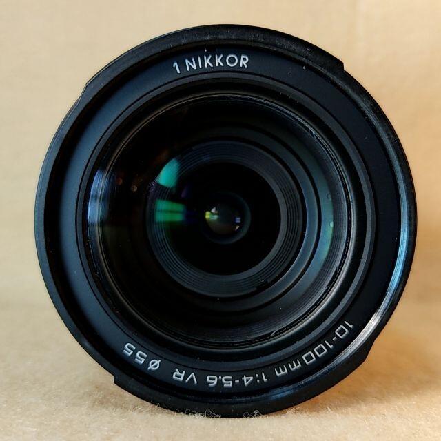 Nikon(ニコン)の高倍率ズームレンズ Nikon 1 NIKKOR 10-100mm ブラック スマホ/家電/カメラのカメラ(レンズ(ズーム))の商品写真
