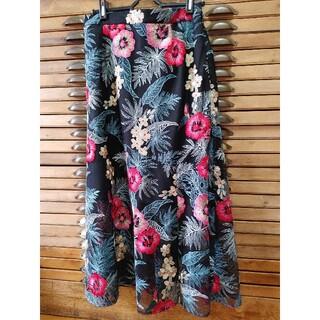 GRACE CONTINENTAL - グレースコンチネンタル 刺繍スカート