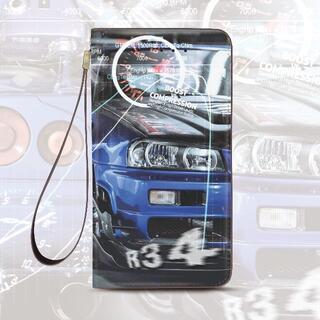 R34 手帳型ケース iPhone、galaxy、Xperia AQUOS