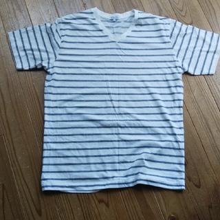 シマムラ(しまむら)のクロッシー ボーダーTシャツ(Tシャツ/カットソー(半袖/袖なし))