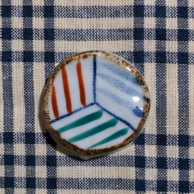 陶器 ●▲■な箸置き 5点セット インテリア/住まい/日用品のキッチン/食器(テーブル用品)の商品写真
