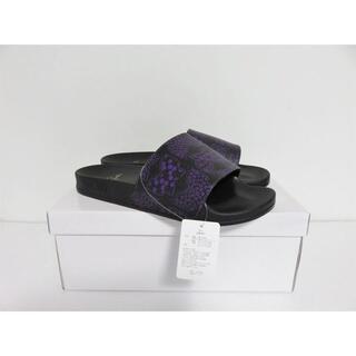 ニードルス(Needles)の新品 Needles Shower Sandals 43 ブラック パープル(サンダル)