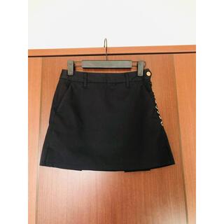 DESCENTE - DESCENTE GOLF  スカート SS 黒