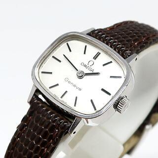 オメガ(OMEGA)の訳あり OMEGA オメガ Geneve 手巻き レディース 腕時計(腕時計)
