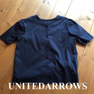 ユナイテッドアローズ(UNITED ARROWS)のUNITED ARROWS 2wayシャツ(シャツ/ブラウス(半袖/袖なし))