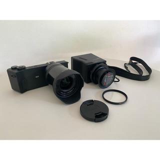 シグマ(SIGMA)のSIGMA dp0 quattro  view finder LVF-01セット(ミラーレス一眼)