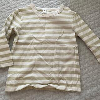 ムジルシリョウヒン(MUJI (無印良品))の無印良品 キッズ ボーダーTシャツ(Tシャツ/カットソー)