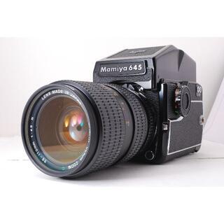 マミヤ(USTMamiya)のマミヤ Mamiya M645 1000S レンズセット(フィルムカメラ)