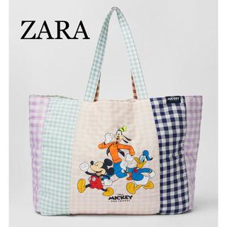Disney - 【新品未使用】ZARA ザラ ミッキー トートバック
