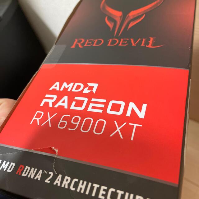 Power Color AXRX 6900XT 16GBD6-3DHE/OC  スマホ/家電/カメラのPC/タブレット(PCパーツ)の商品写真