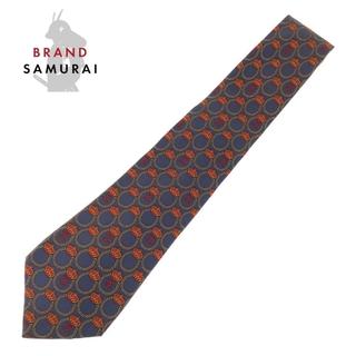 シャネル(CHANEL)のシャネル ヴィンテージ ココマーク 王冠 剣先9.5cm ネクタイ 104747(ネクタイ)