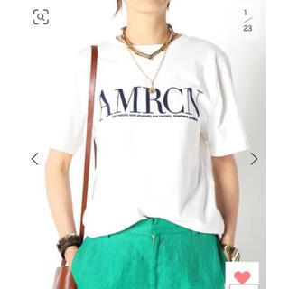DEUXIEME CLASSE - 新品 MUSE【AMERICANA/アメリカーナ】 AMRCN Tシャツ