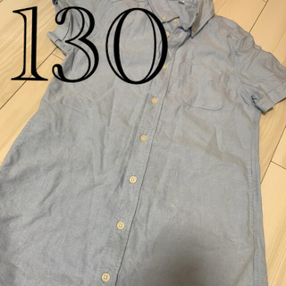 ムジルシリョウヒン(MUJI (無印良品))のシャツ シャツワンピース (ワンピース)