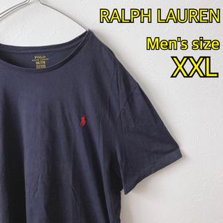 POLO RALPH LAUREN - 【90's】ラルフローレン Tシャツ 刺繍ロゴ XL