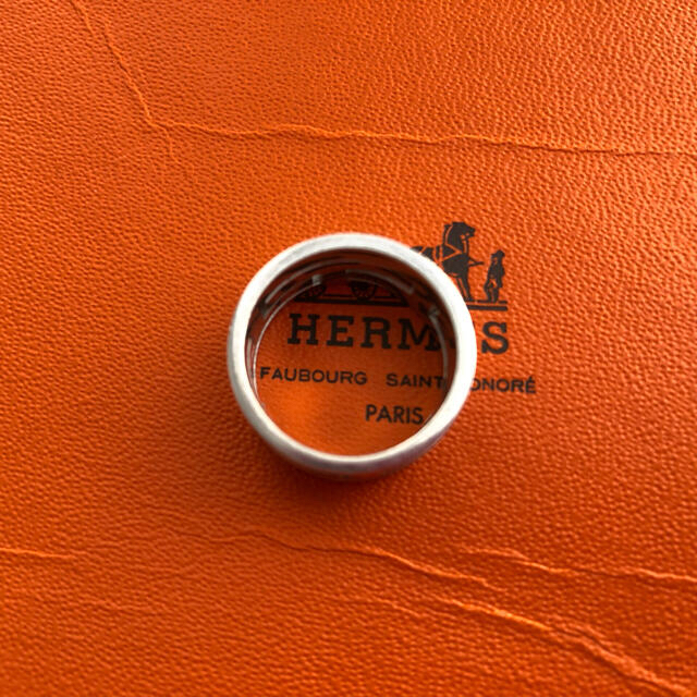 Hermes(エルメス)の★HERMES★ムーブアッシュリング/ ピンク52 レディースのアクセサリー(リング(指輪))の商品写真