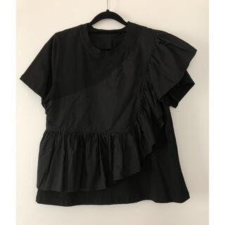 ENFOLD - アシンメトリーデザイン カットソー Tシャツ