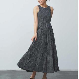 TOMORROWLAND - 美品 MARIHA 夏のレディのドレス マキシワンピース ノースリーブ