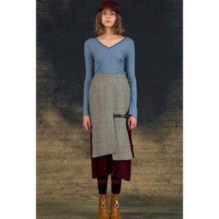 クリスチャンダダ(CHRISTIAN DADA)のクリスチャンダダ christian dada スカート 36サイズ(ひざ丈スカート)